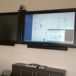 Polycom Video Conferncing and Commbox Touchscreen Installation in Cairns