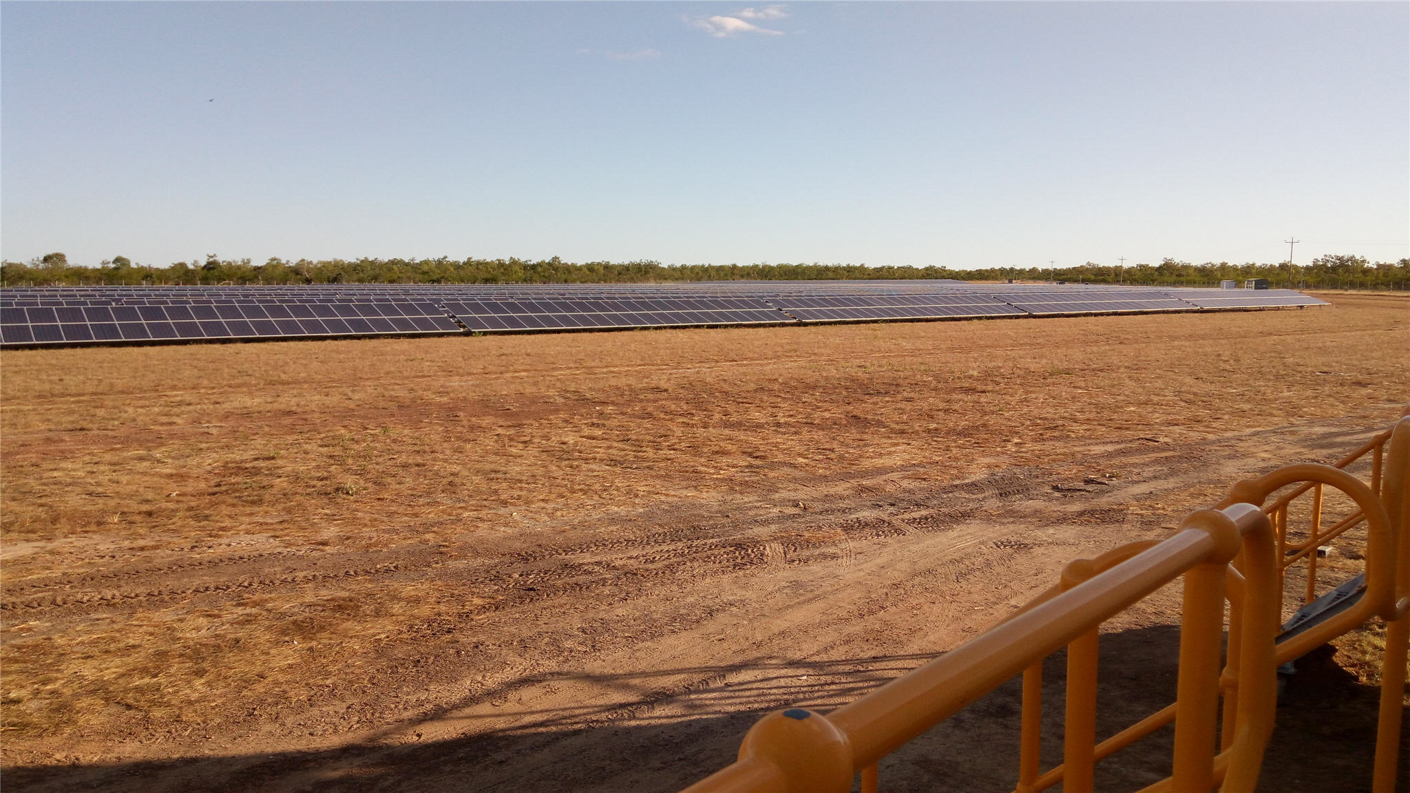 Solar farm - Fibre Optic Splicing